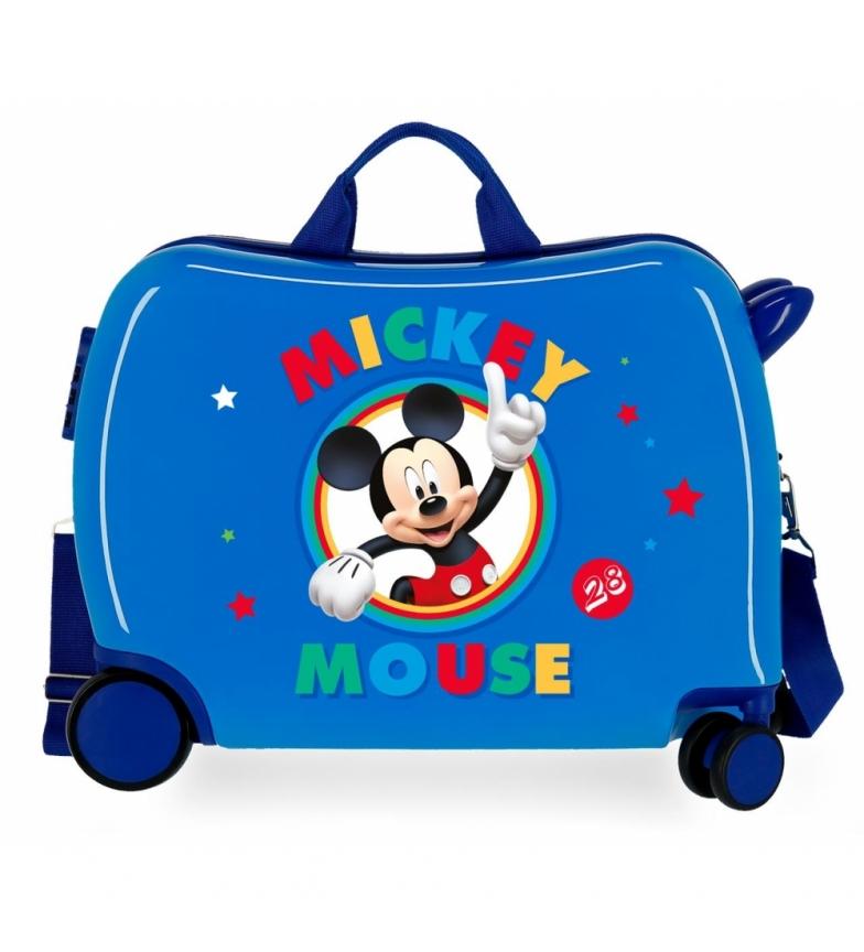 Comprar Mickey 2 roues multidirectionnelles Circle Mickey Bleu 34 L / -38x50x20x20cm