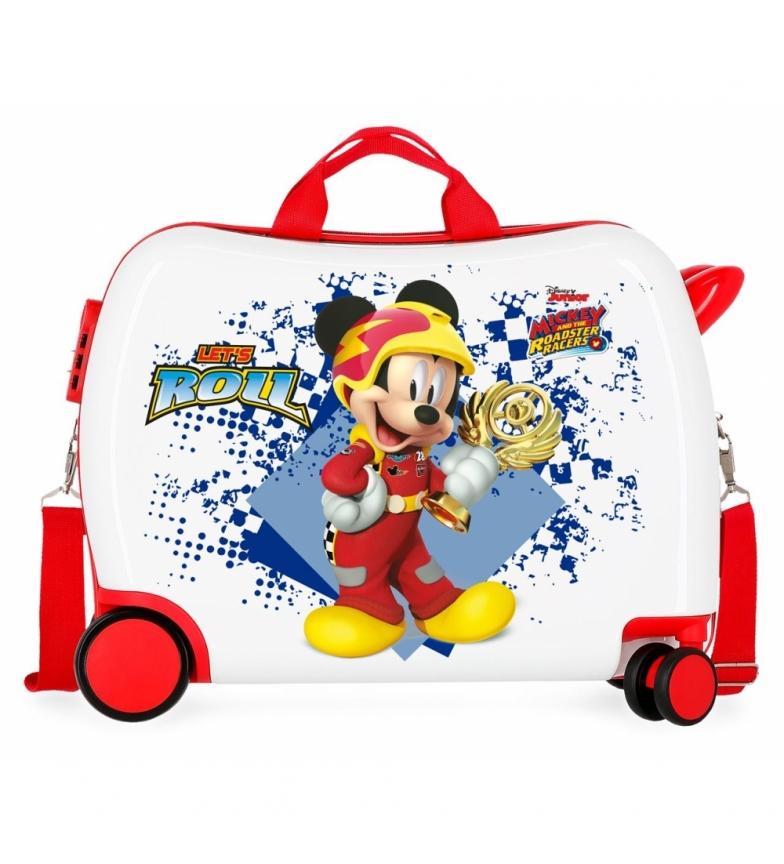 Comprar Mickey Maleta correpasillos Joy -39x50x20cm-