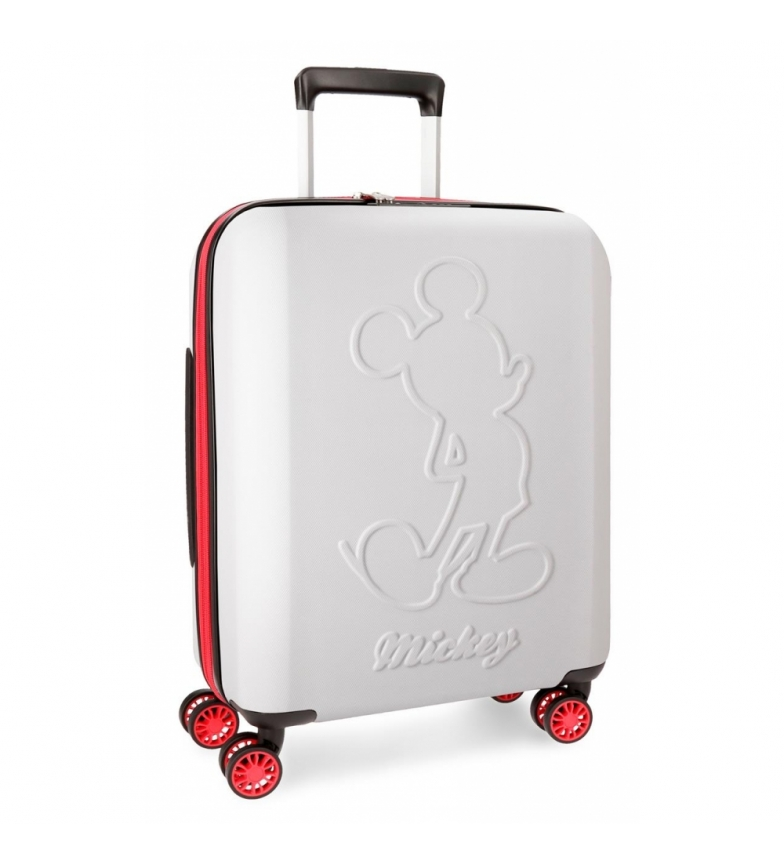 Comprar Mickey Maleta de cabina Mickey Colored rígida 55cm blanco