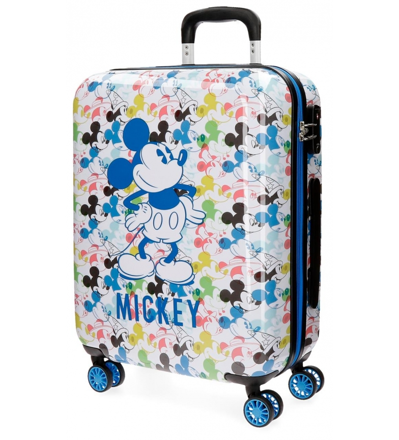 Comprar mickey maleta de cabina mickey colors r gida 55cm for Cabina del mickey
