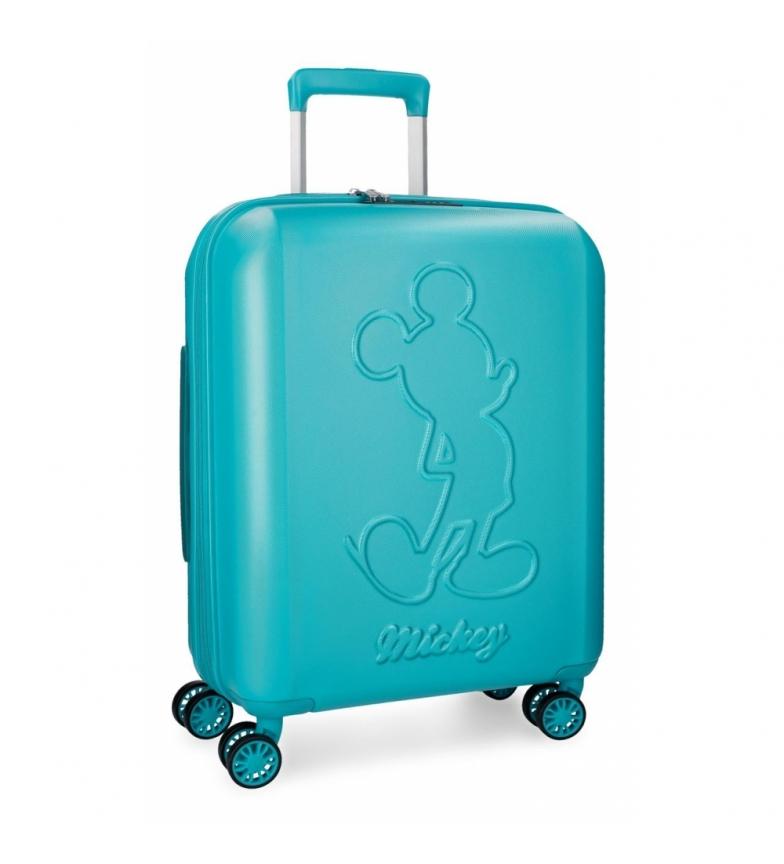 Comprar Mickey Maleta de cabina Mickey Premium rígida 55cm verde