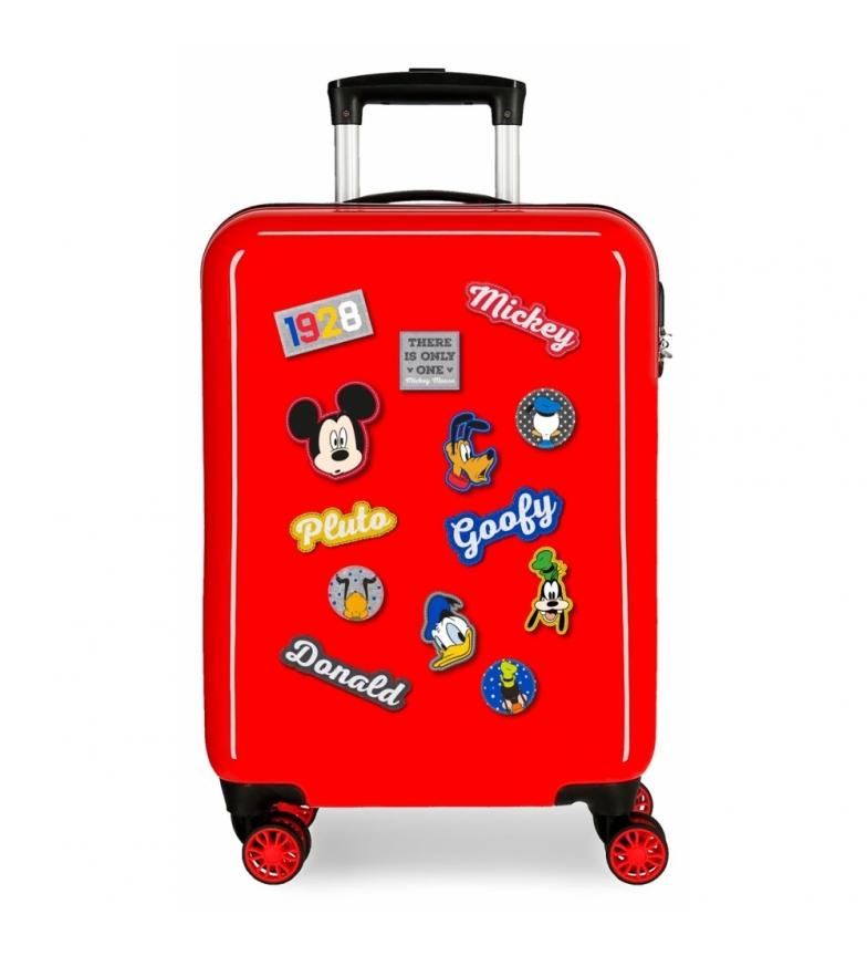 Comprar Mickey Maleta de cabina Mickey rígida 55cm personajes roja 34L / -38x55x20cm-