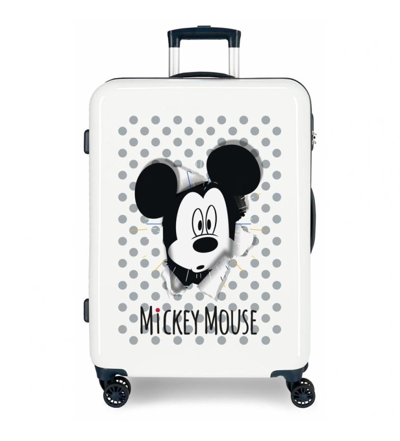 Comprar Mickey Valigia media Topolino rigido 68cm blu 70L / -48x68x26cm-