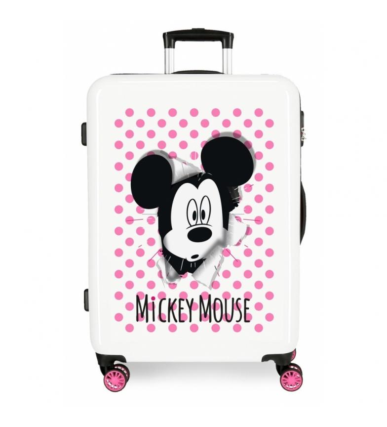 Comprar Mickey Valise moyenne Mickey Mouse rigide 68cm rose 70L / -48x68x26cm rose