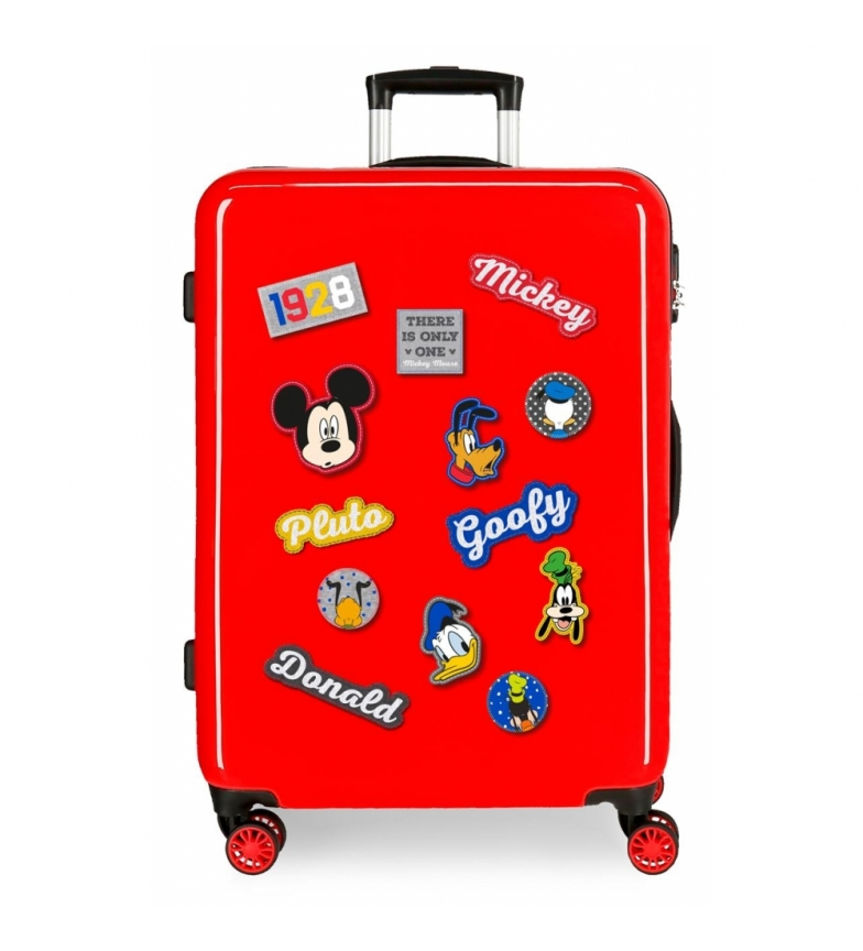 Comprar Mickey Medium Mickey suitcase 68cm red characters 70L / -48x68x26cm