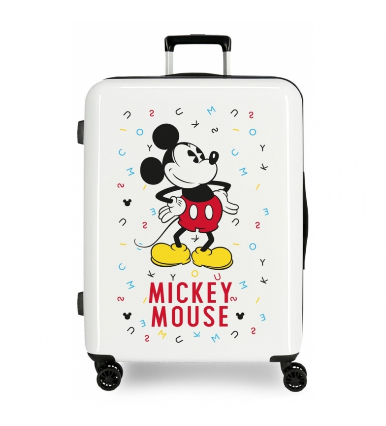 Comprar Mickey Maleta mediana Style letras rígida -70x48x26cm-