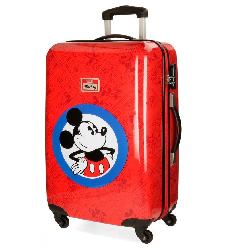 Comprar Mickey Rígida mala médio Olá Mickey vermelho