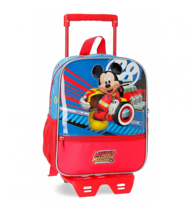 Comprar Mickey Mochila de 28cm com carro World Mickey -23x28x10cm