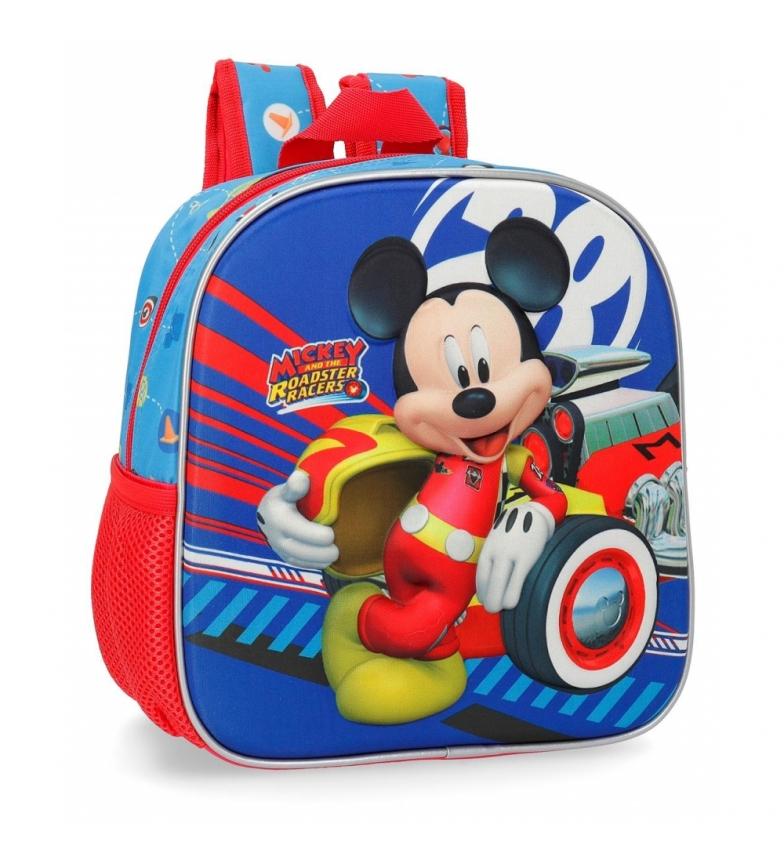 Comprar Mickey 3D Mondo Mickey Mickey Zaino Vivaio Anteriore -21x25x10cm