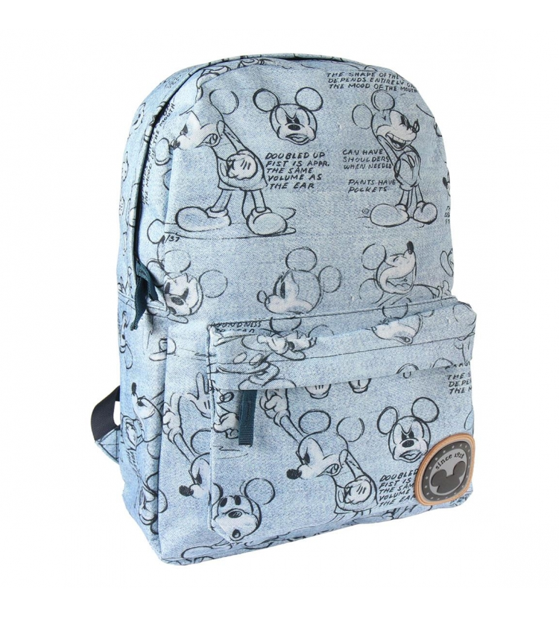 Comprar Mickey Mochila Escolar Instituto Mickey -30X44X12cm-