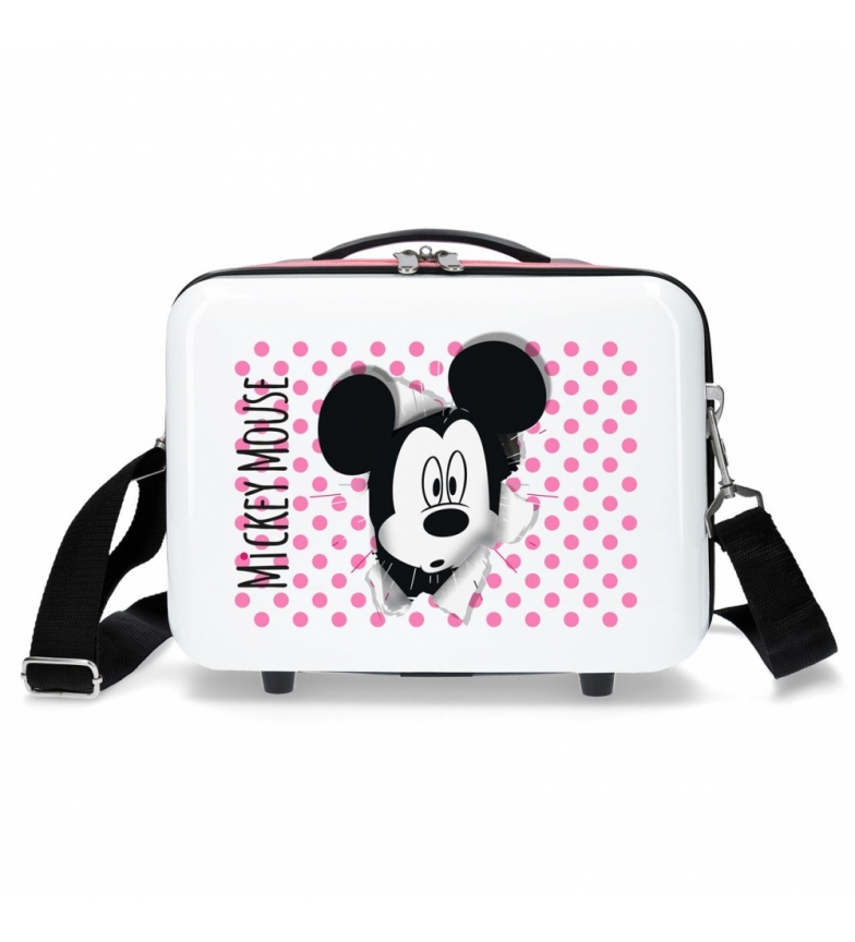 Comprar Mickey Neceser ABS Mickey Mouse Adaptable Rosa -29x21x15cm-