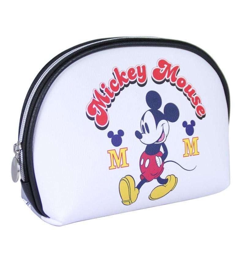Comprar Mickey Borsa da toilette Mickey bianco -22,5x15,5x5,0cm