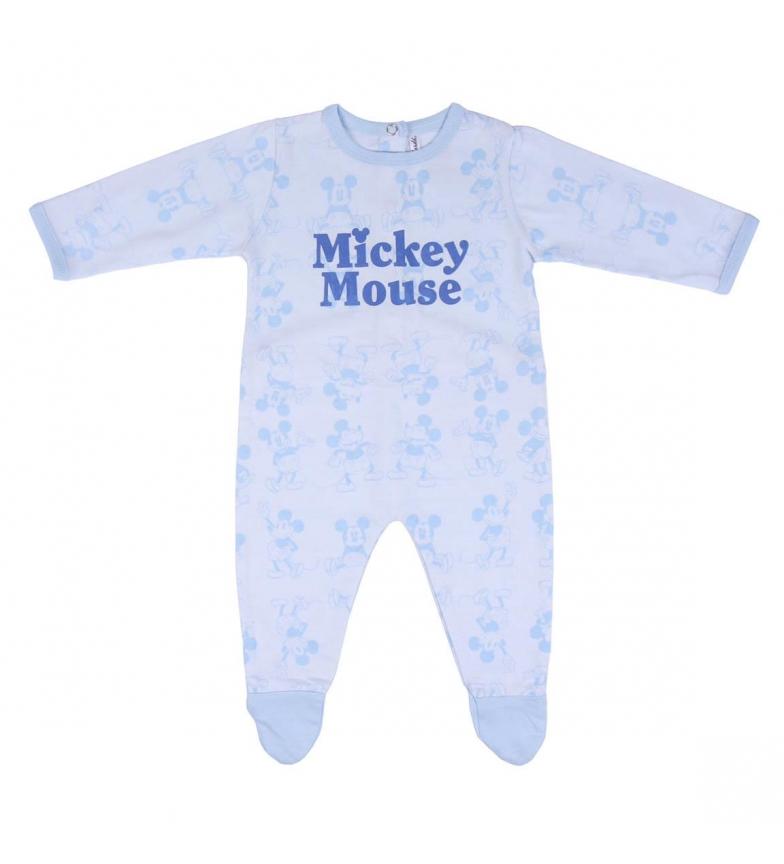 Comprar Cerdá Group Single Jersey Mickey blue romper suit