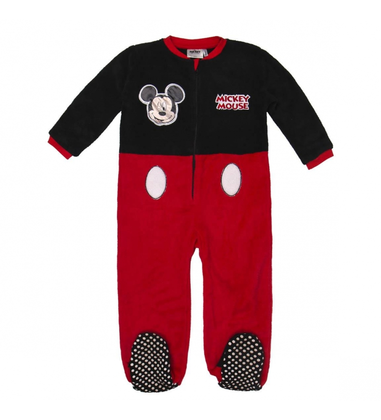 Comprar Mickey Pyjama Coral Fleece Mickey rouge, noir