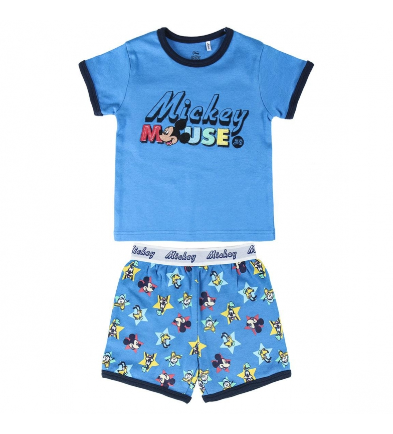Comprar Cerdá Group Pyjama Short Single Jersey Mickey bleu