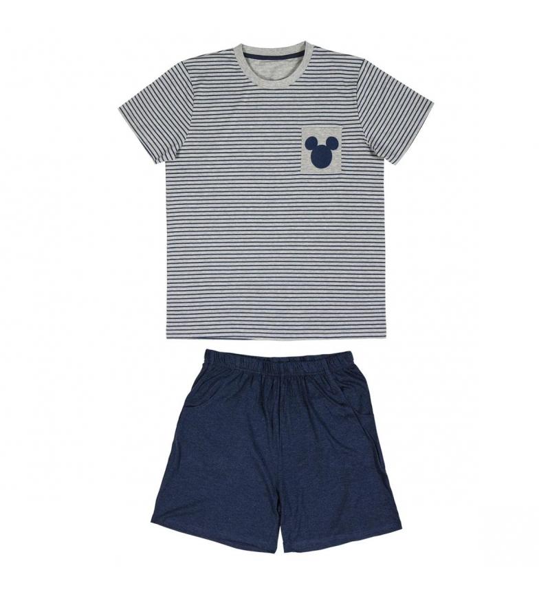 Comprar Mickey Pyjama court gris Mickey, marine