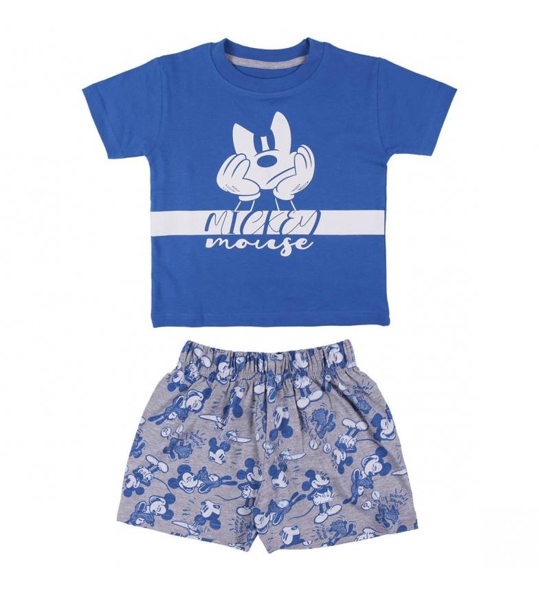 Comprar Cerdá Group Pigiama corto blu Mickey Single Jersey