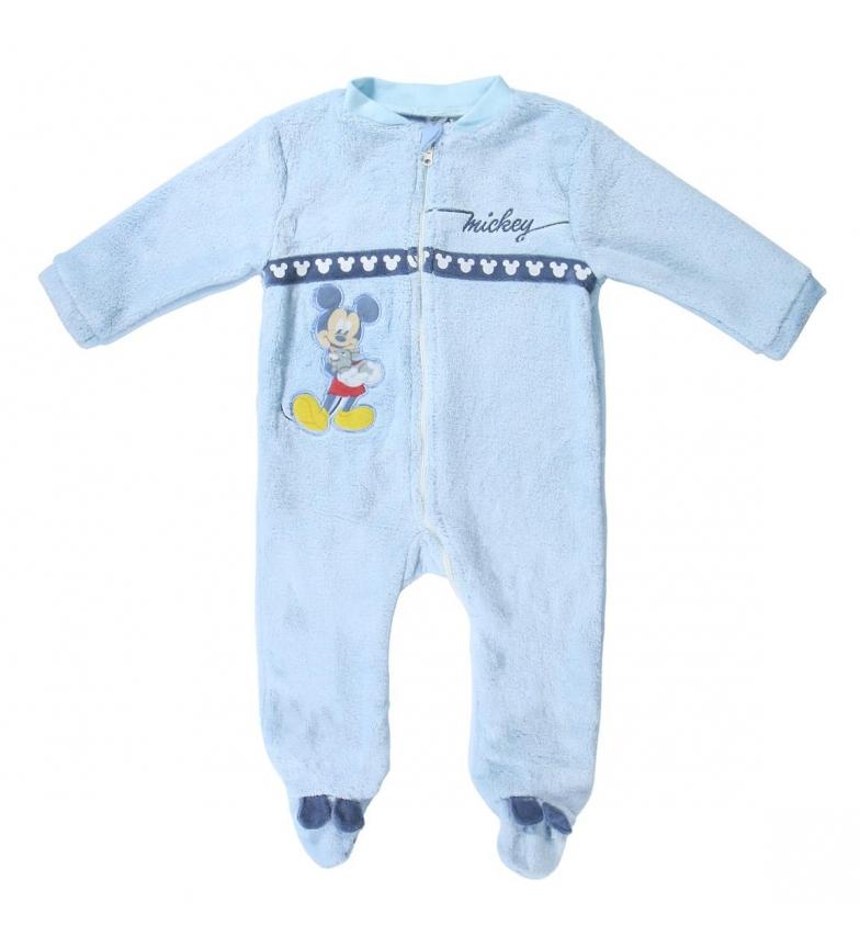 Comprar Mickey Pigiama Coral Fleece Blu Mickey