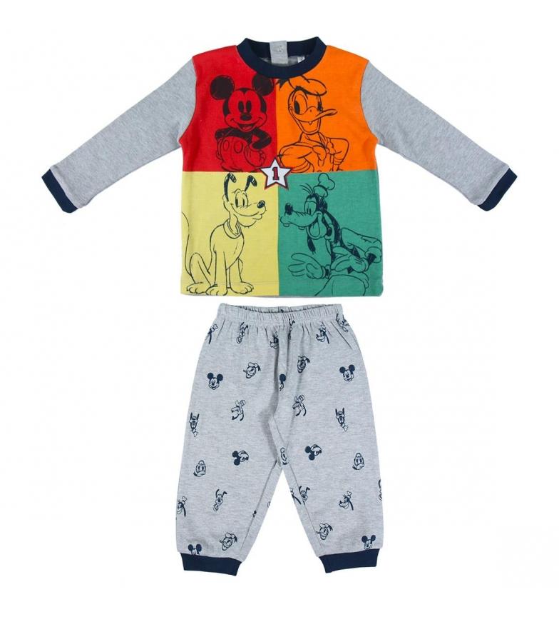 Comprar Cerdá Group Pijama largo Interlock Mickey gris