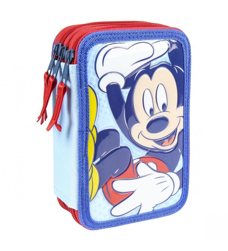 Comprar Mickey Giotto Premium Pvc Mickey lápis triplo azul -12,5x19,5x6,5cm