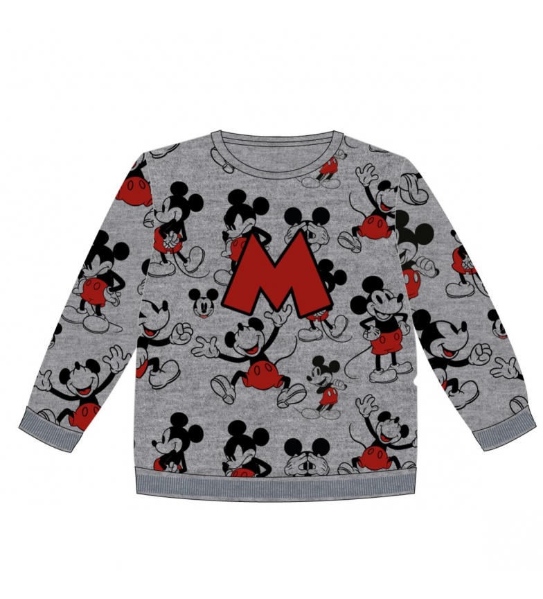Comprar Mickey Sudadera Brush Fleece Mickey gris