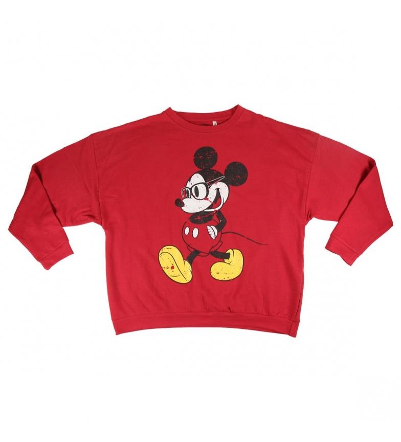 Comprar Mickey Escova Fleece Mickey camisola vermelha