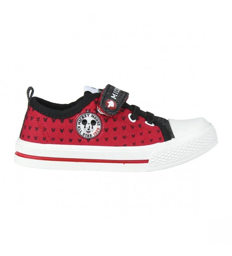 Comprar Mickey Lona Baixa Mickey Sapatos Vermelhos