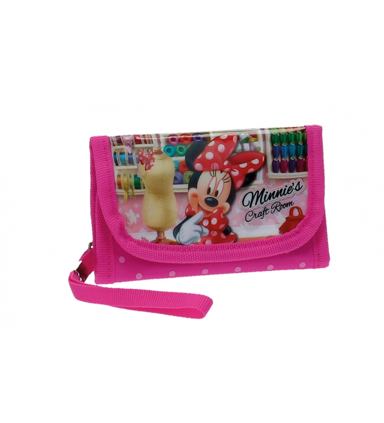 Comprar Minnie Carteira Minnie Craft Room -14x8,5cm-