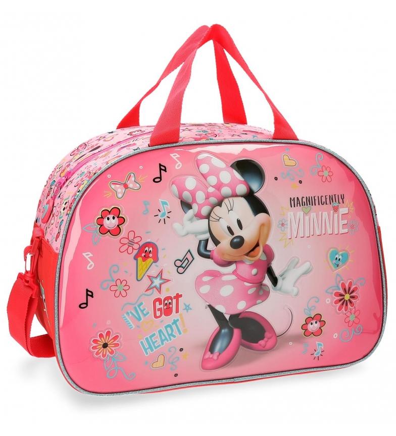 Comprar Minnie Borsa da viaggio Minnie Stickers 40x28x22cm-