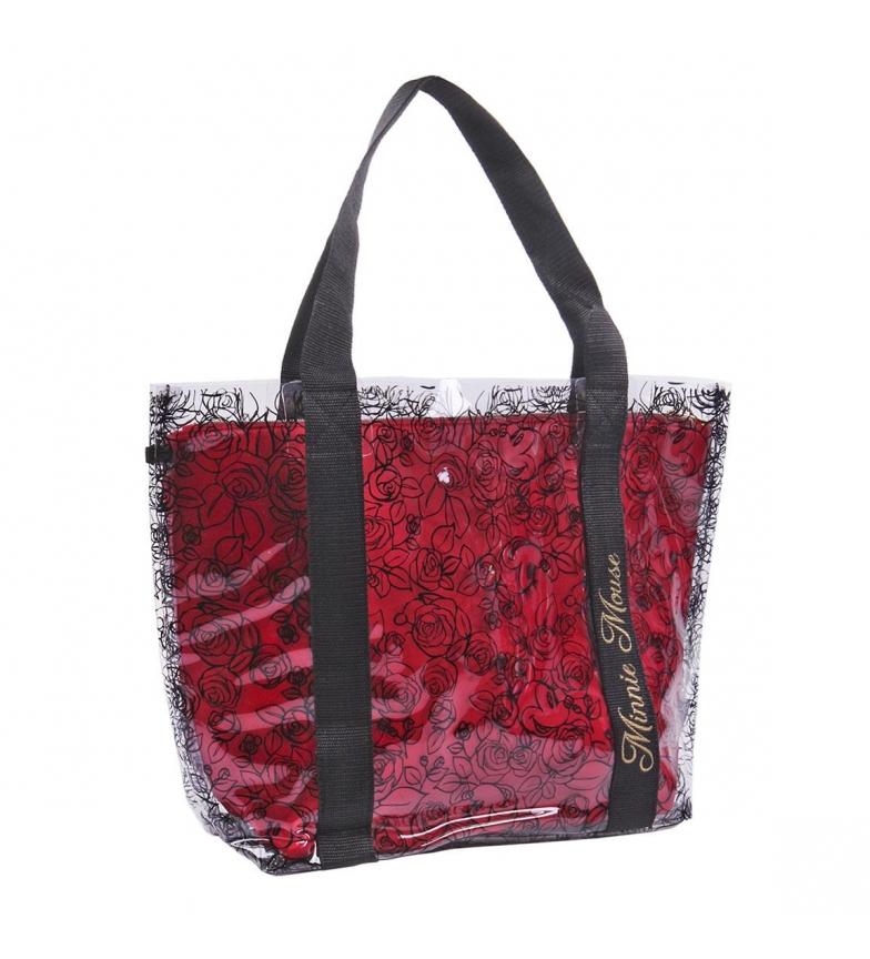 Comprar Cerdá Group Sac à main rouge à poignée transparente -45x34x13cm
