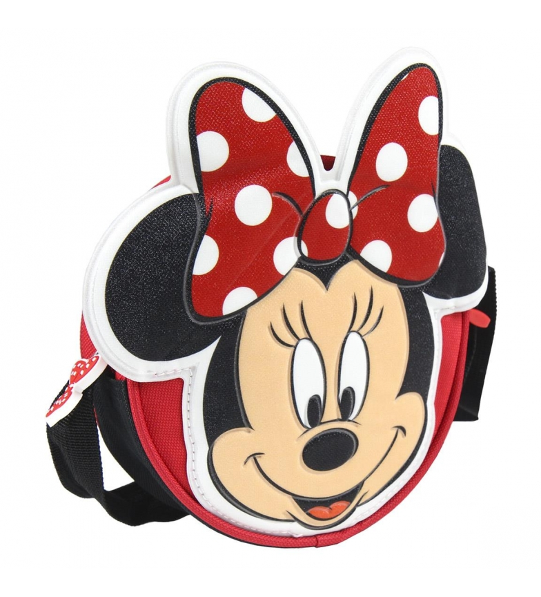 Comprar Minnie Minnie 3d shoulder bag red -16.0x16.0x4.5cm