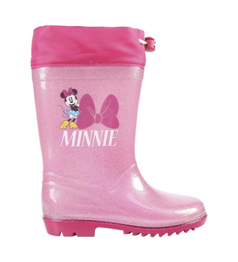 Comprar Minnie Botas de chuva rosa Minnie