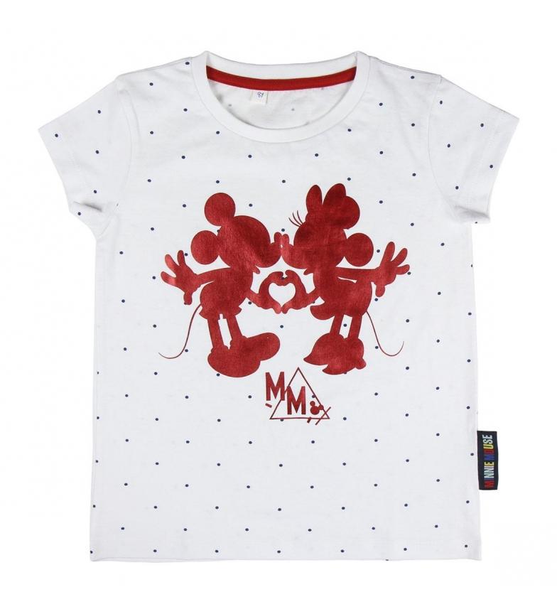 Comprar Minnie Camiseta Corta Single Jersey Minnie blanco