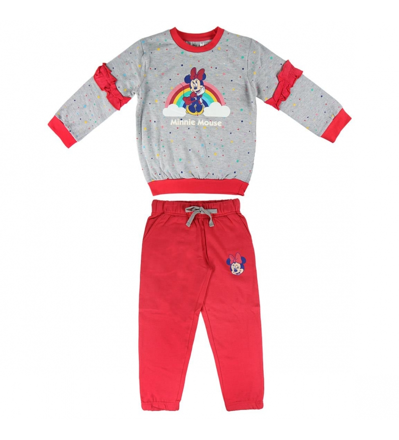 Comprar Minnie Escova Fleece Tracksuit Minnie cinza