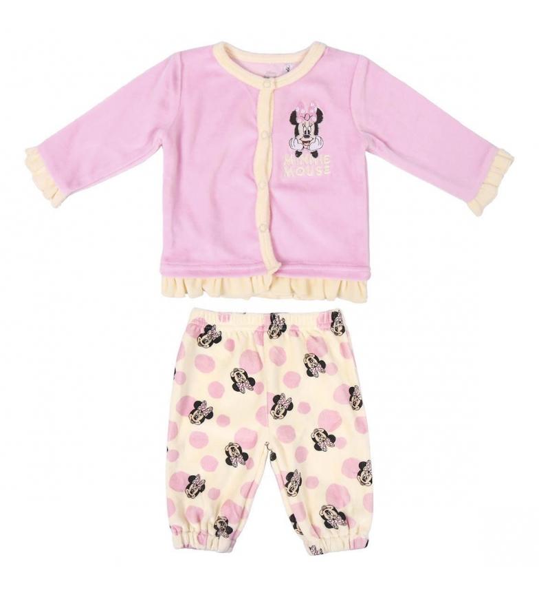 Comprar Minnie Ensemble de 2 pièces pyjama rose Velour Minnie
