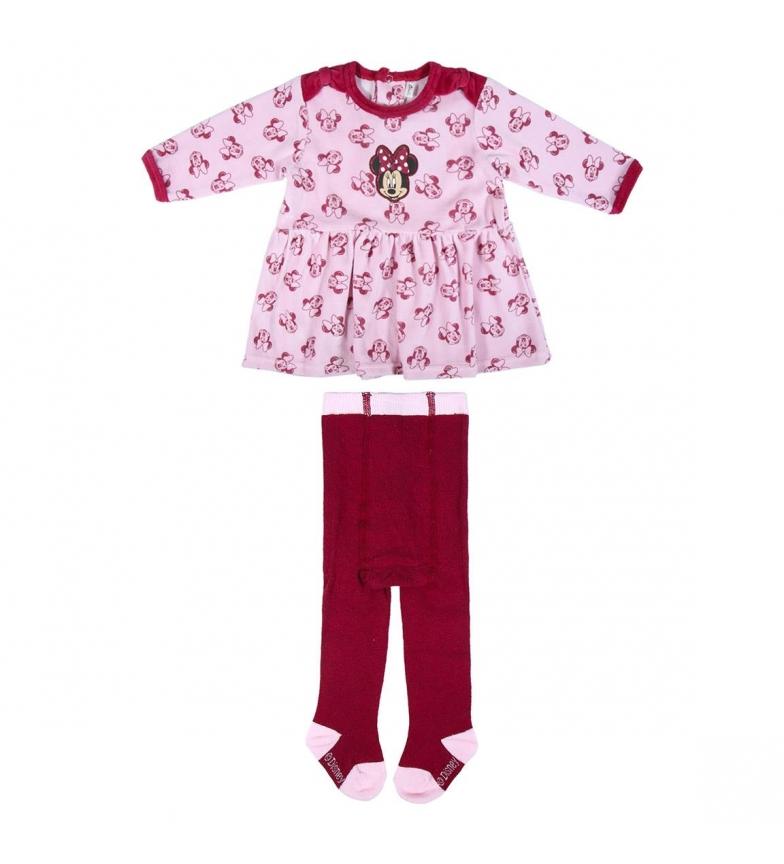Comprar Cerdá Group Set 2 pezzi Velour Cotton Minnie rosa