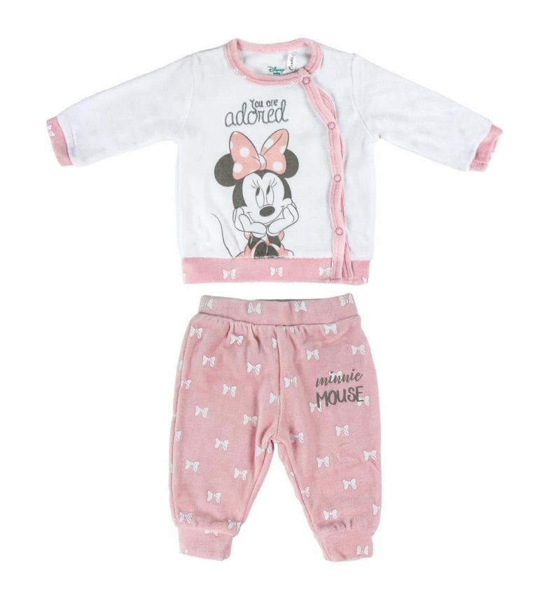 Comprar Minnie Conjunto 2 Piezas Velour Minnie rosa