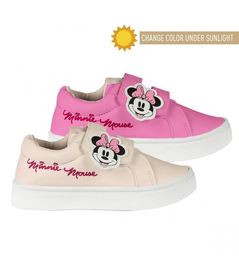 Comprar Minnie Zapatillas Baja Minnie rosa
