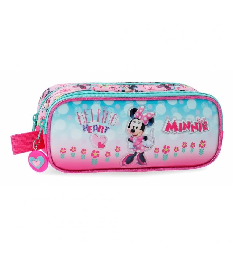 Comprar Minnie Custodia due scomparti Minnie Cuore -23x9x9x7cm