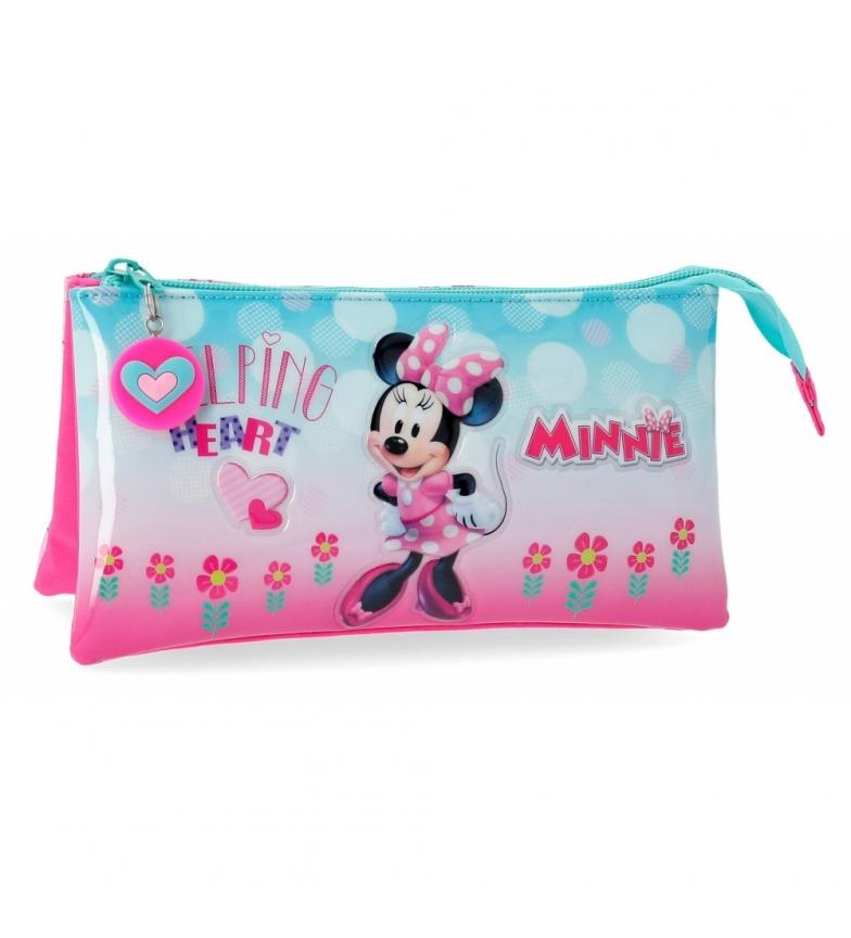 Comprar Minnie Coffret trois compartiments Minnie Coeur -22x12x5cm