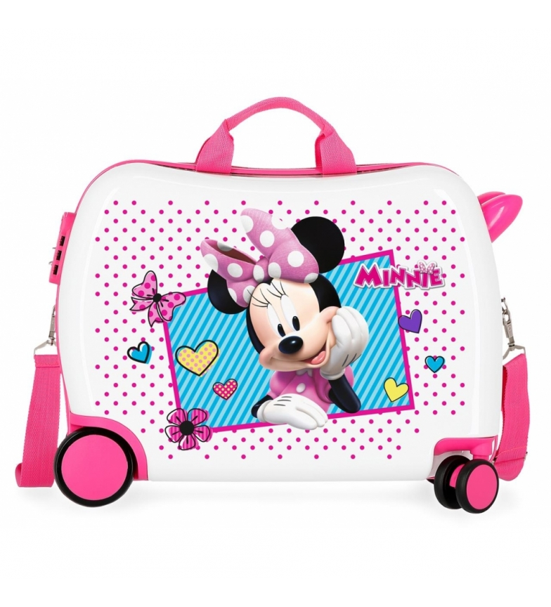Comprar Minnie Suitcase for riders Joy -39x50x20cm