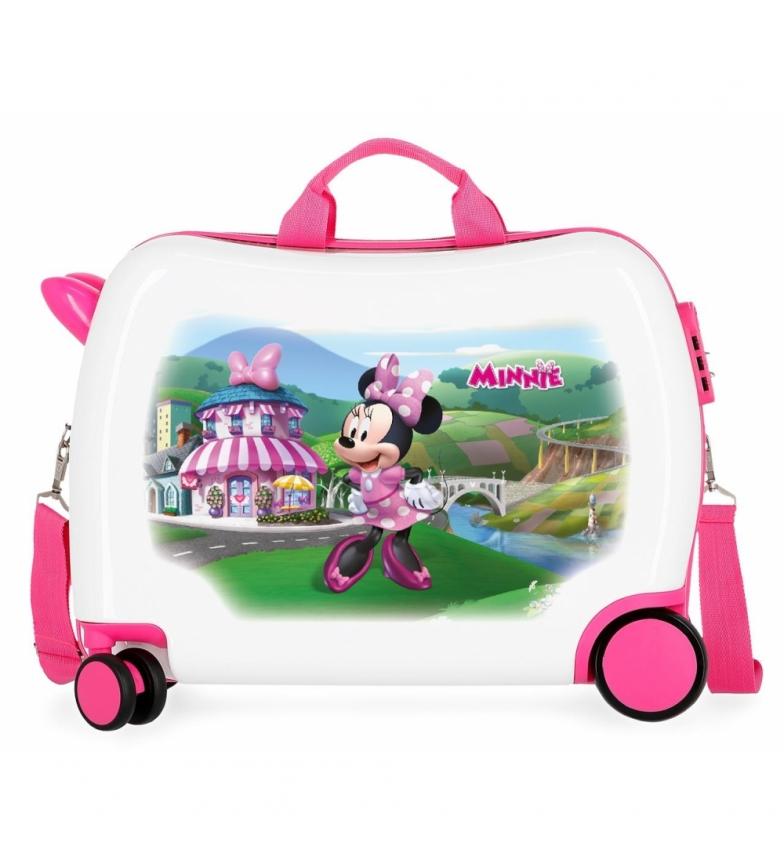 Comprar Minnie Suitcase for riders Joyfull -38x50x20cm