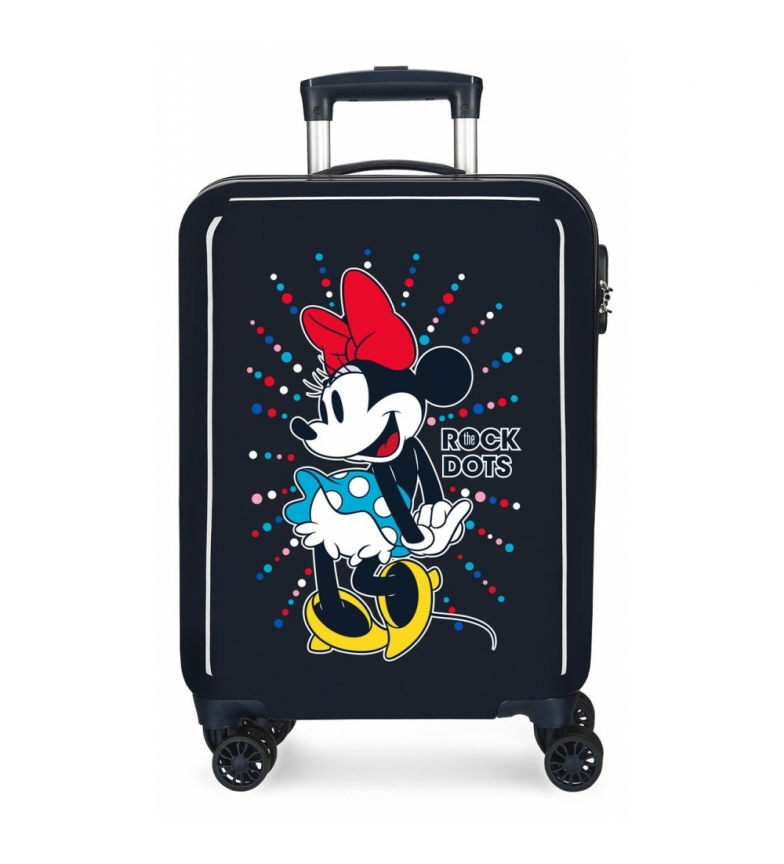 Comprar Minnie Maleta de cabina Minnie rígida 55cm Rock Dots Azul -38x55x20cm-
