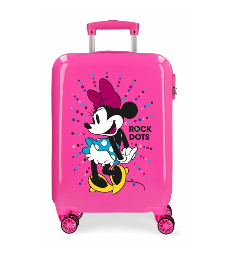 Comprar Minnie Etui cabine Minnie rigide 55cm Rock Dots Fuchsia -38x55x20cm