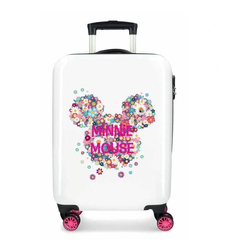 Comprar Minnie Maleta de cabina Minnie rígida 55cm Sunny Day Flores Fucsia -38x55x20cm-