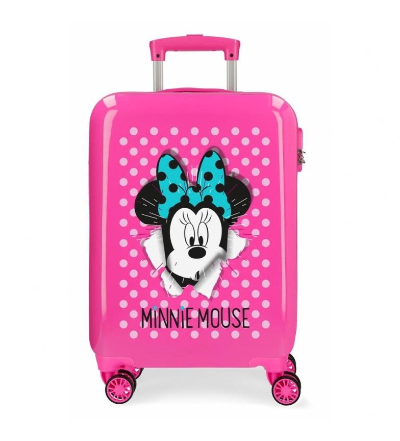 Comprar Minnie Etui cabine Minnie rigide 55cm Sunny Day Fuchsia -38x55x20cm