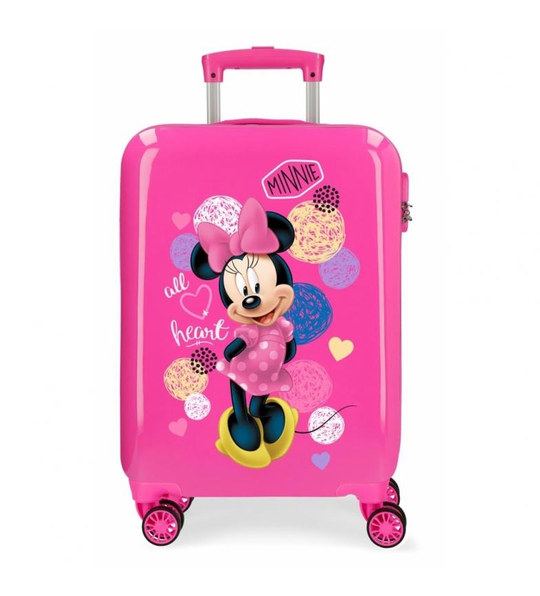 Comprar Minnie Minnie Heart 34L / -38x55x55x20cm caso cabine rígida