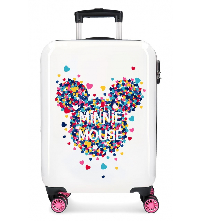 Comprar Minnie Minnie Magic hearts rigid cabin case -36x55x20cm-