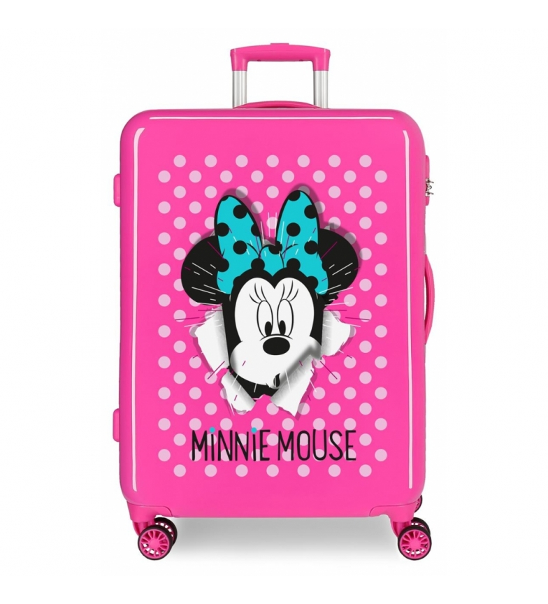 Comprar Minnie Medium suitcase Minnie rigid 68cm Sunny Day Fuchsia 70L / -48x68x26cm