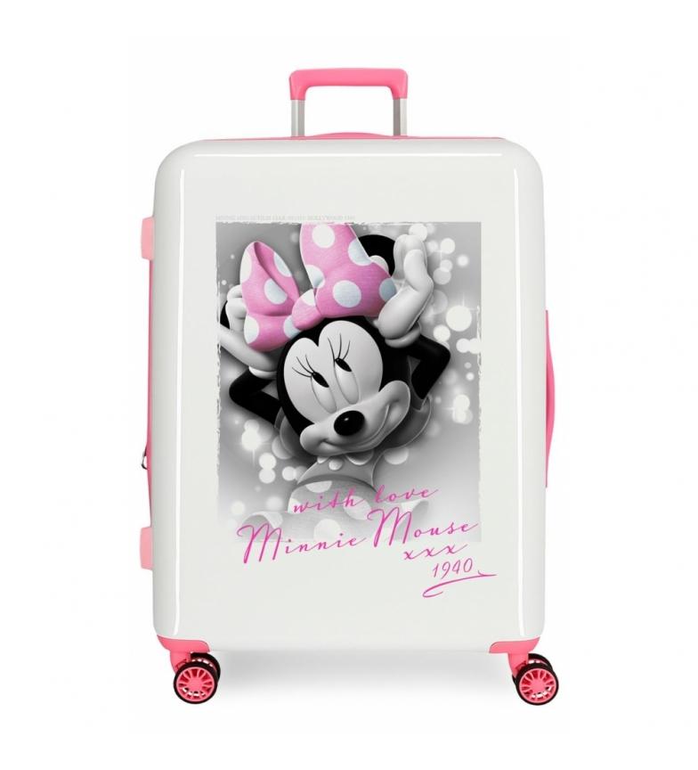 Comprar Minnie Valigia rigida stile medio con amore -70x48x26cm-